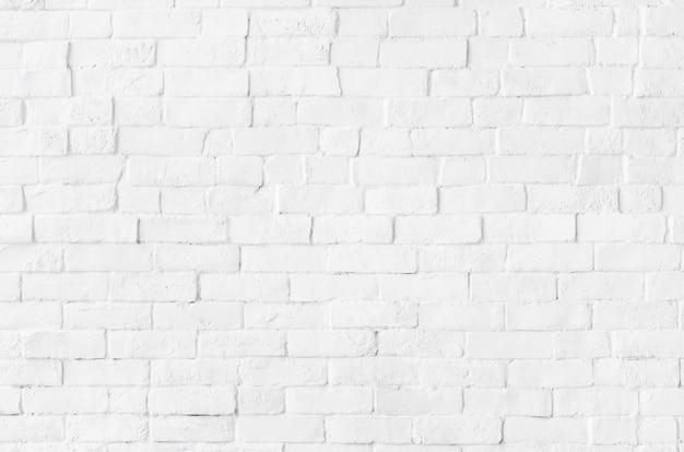 Witte bakstenen muur getextureerde achtergrond