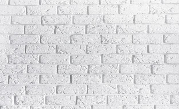 Witte bakstenen muur interieur achtergrond, lege textuur beton cement patroon metselwerk metselwerk abstracte textuur licht oude verf grungy roestige blokken metselwerk met kopie ruimte
