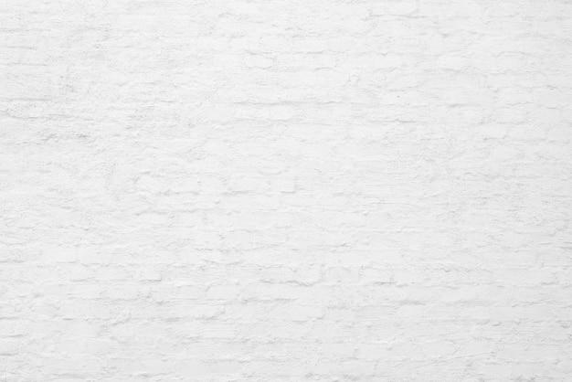 Witte bakstenen muur. loft interieur. architecturale achtergrond.