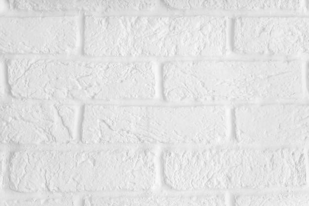 Witte bakstenen muur oppervlak en textuur