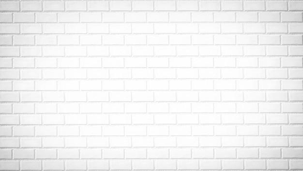 Witte bakstenen muur, stenen textuur