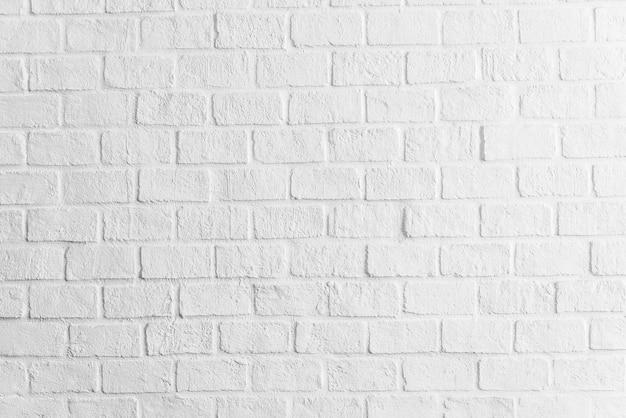 Witte bakstenen muur texturen achtergrond