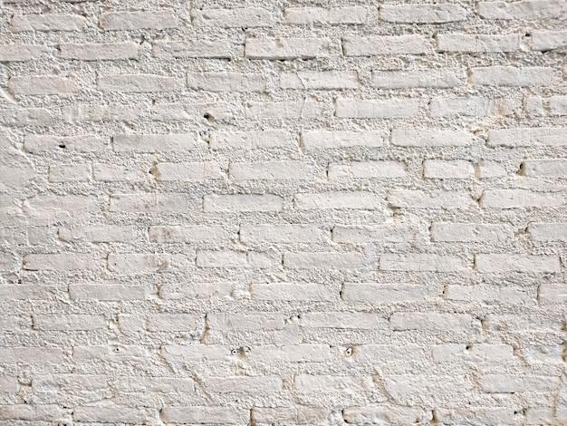 Witte bakstenen muur textuur en achtergrond. muren interieur en interieur design. scandinavische sfeer mooie en tijdloze decors. bakstenen brengt gezelligheid en warmte binnen
