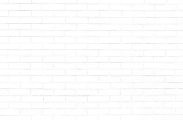 Witte bakstenen muur voor achtergrond en textuur.