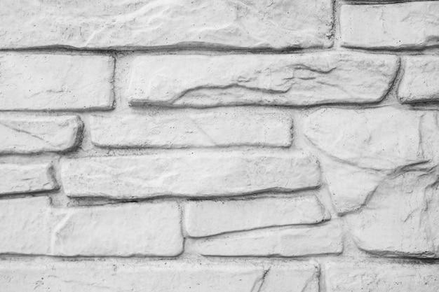 Witte bakstenen muurachtergrond