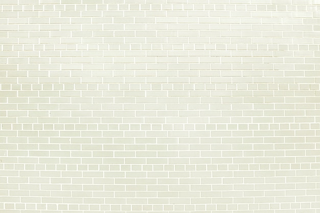 Witte bakstenen muurtextuur als achtergrond