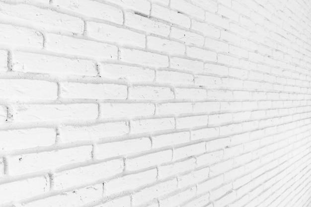 Witte bakstenen texturen voor achtergrond