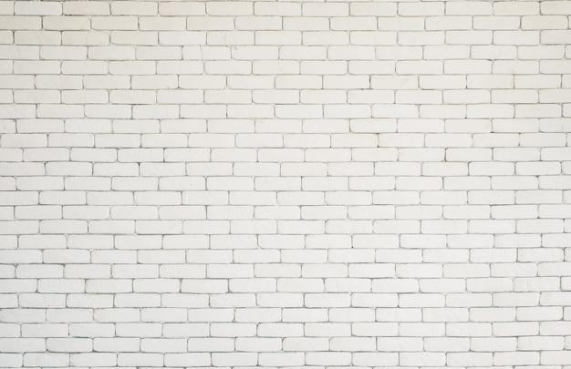 Witte bakstenen textuur kantoor aan huis behang muur achtergrond.