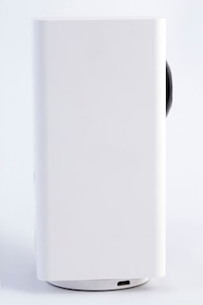 Witte beveiliging cctv-camera of bewaking