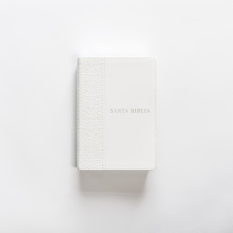Witte bijbel holly bijbel op wit