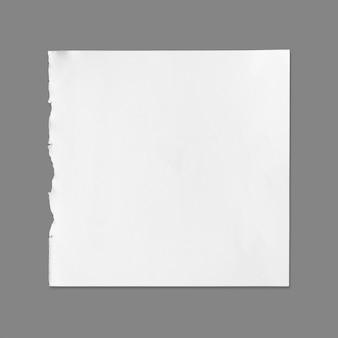 Witte blad van papier textuur voor achtergrond met uitknippad.