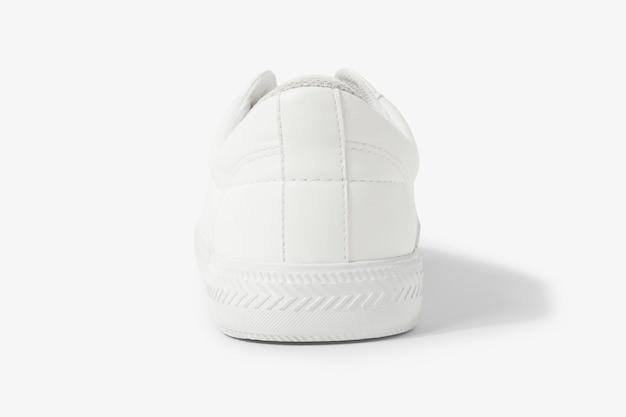 Witte canvas sneakers unisex schoenenmode