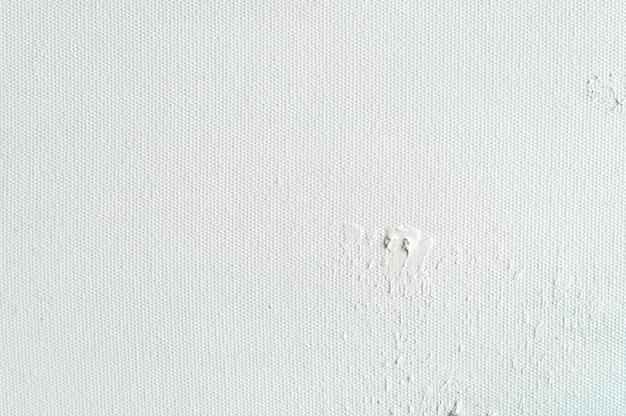Witte canvastextuurachtergrond voor kunst het schilderen en tekening.