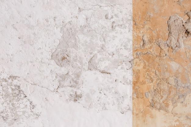 Witte cementmuur met de achtergrond van de vormtextuur