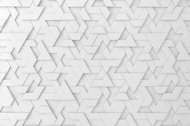 Witte driedimensionale achtergrond