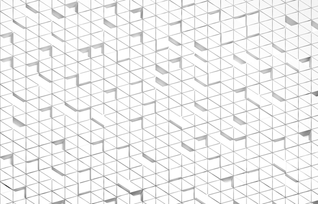 Witte driehoekige abstracte achtergrond, grunge-oppervlak