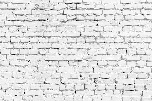 Witte en beige perzik bakstenen muur textuur