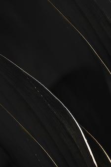 Witte en gouden strepen op een zwarte achtergrond