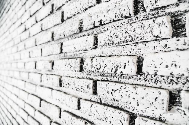 Witte en grijze bakstenen texturen