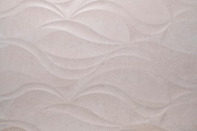 Witte geometrische bladeren 3d tegels textuur achtergrond
