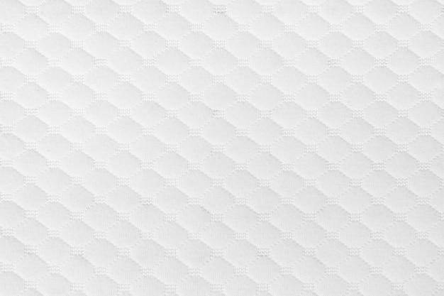 Witte geweven stof patroon achtergrond voor ontwerp