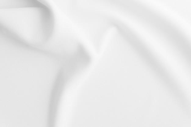 Witte golvende stof