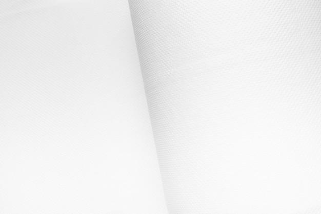 Witte grote grote rol keukenrol, gestructureerde achtergrond
