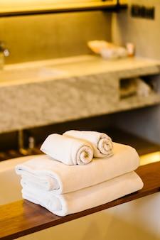 Witte handdoek