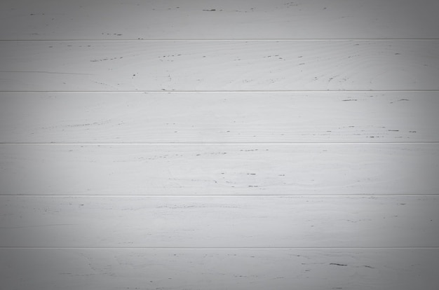 Witte houten gestructureerde achtergrond van planken. kopieer ruimte