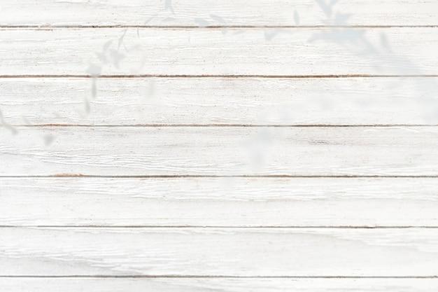 Witte houten plank gestructureerde achtergrond