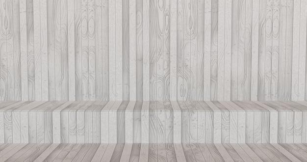 Witte houten plank oppervlakte achtergrond