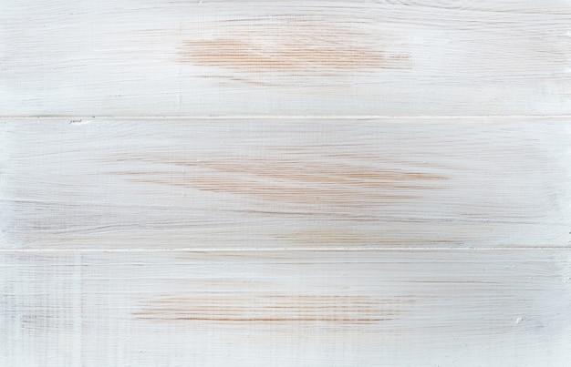 Witte houtstructuur achtergrond / bovenaanzicht / echte beelden