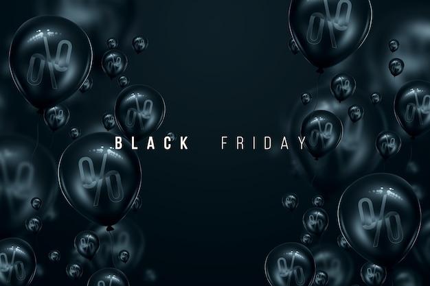 Witte inscriptie black friday op een zwarte achtergrond, procent. uitverkoop flyer tijdschrift stijl modern design kortingen prijs drop poster. 3d illustratie 3d render kopie ruimte.
