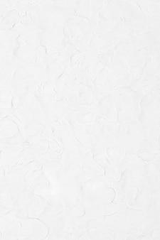 Witte klei getextureerde achtergrond in abstracte diy creatieve kunst minimale stijl