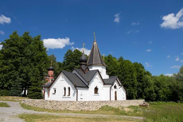 Witte kloosterkapel ryazan rusland