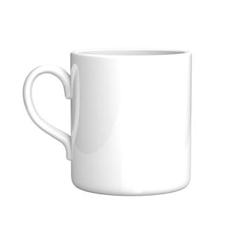 Witte koffiemok