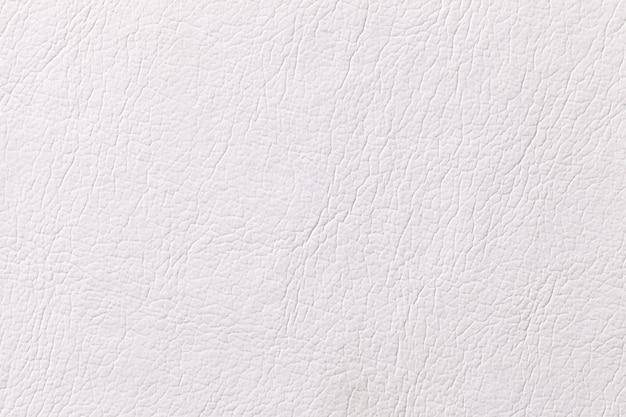 Witte lederen textuur achtergrond