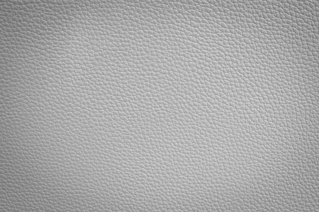 Witte lederen textuur