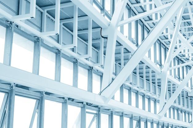 Witte metalen structuur