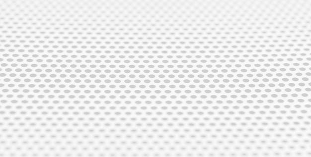 Witte metalen textuur blanco voor ontwerpers rond rooster