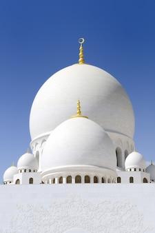 Witte moskee sheikh zayed