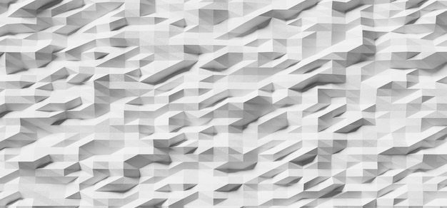 Witte muur textuur 3d render