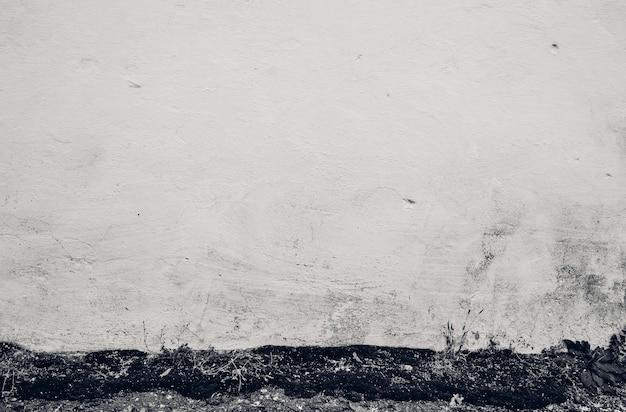 Witte muur textuur. oude cement grunge achtergrond. witte muur