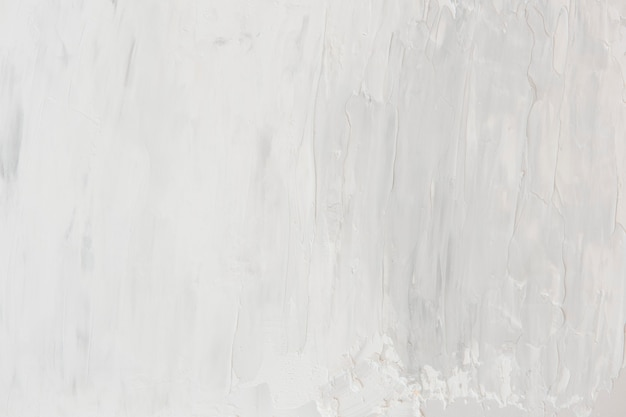 Witte olieverf penseelstreek textuur achtergrond