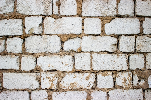 Witte oude grote blokken abstracte achtergrond
