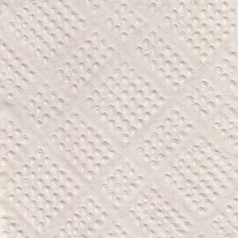 Witte papieren handdoek (servet) textuur, wc-papier textuur, recycling papier achtergrond