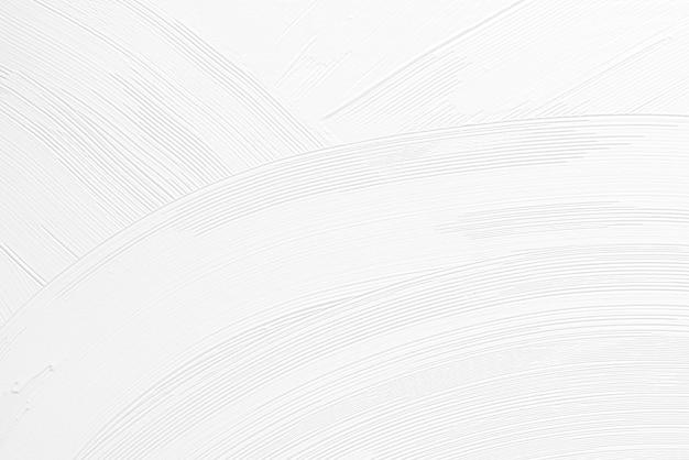 Witte penseelstreek textuur achtergrond
