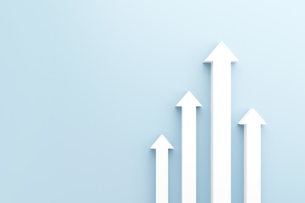 Witte pijl tot groeisucces.