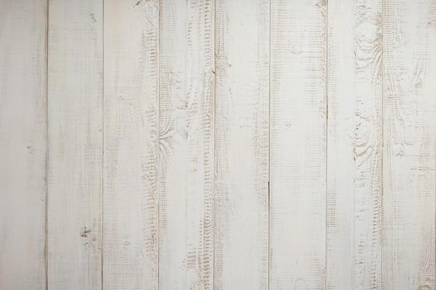 Witte plank houten achtergrondtextuur