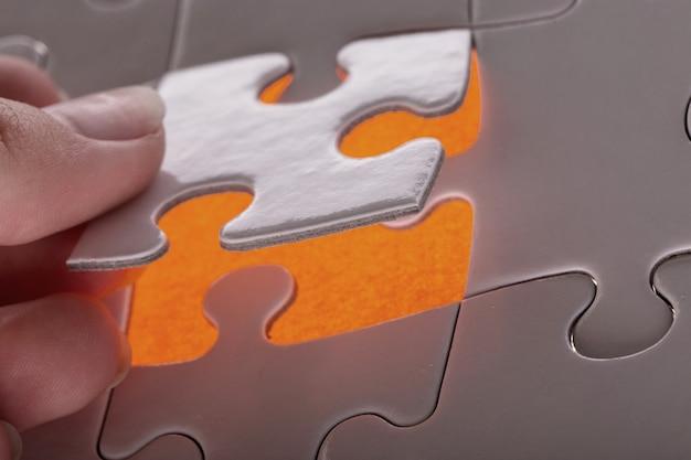 Witte puzzel